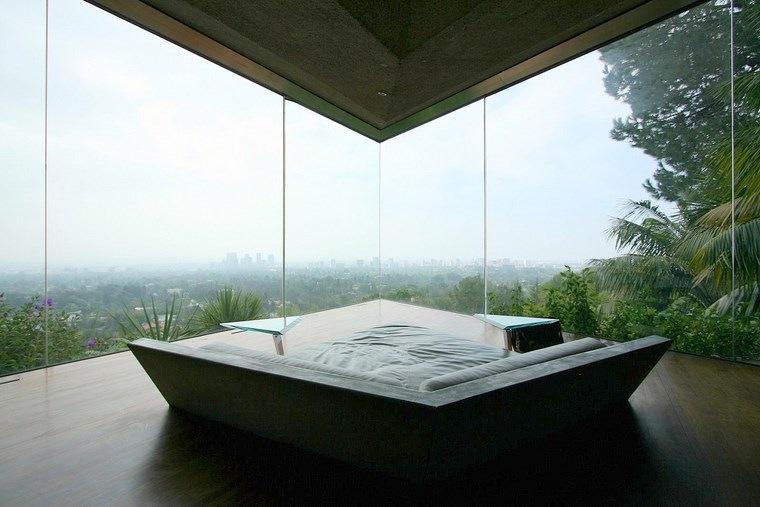 sofa vistas dormitorio casa colina ideas