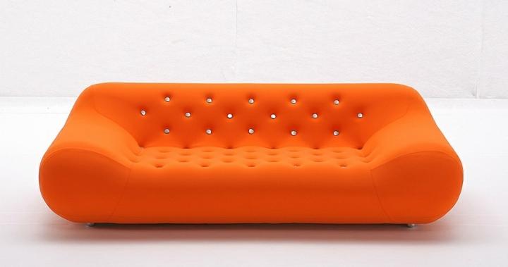 sofas mobiliario detalles stilos puertos naranja