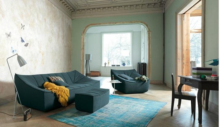 sofas mobiliario lamparas metales transpirables
