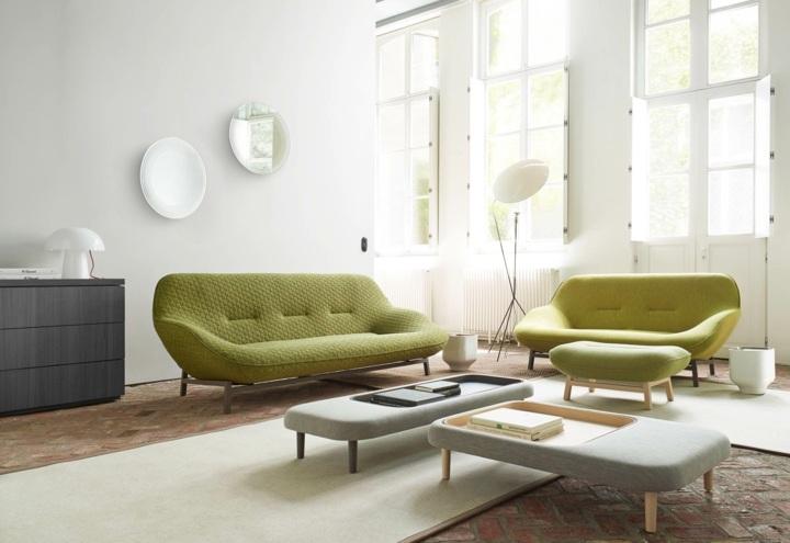sofas mobiliario muebles jarrones lamparas