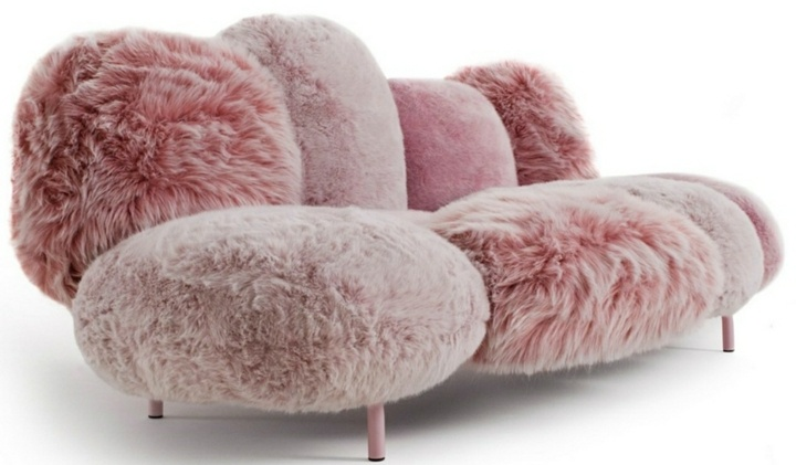 rosa acolchonado elegantes rosa tono