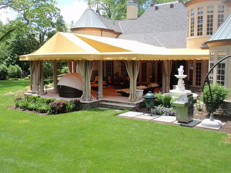 sol y sombra aire libre opciones jardines amplios ideas