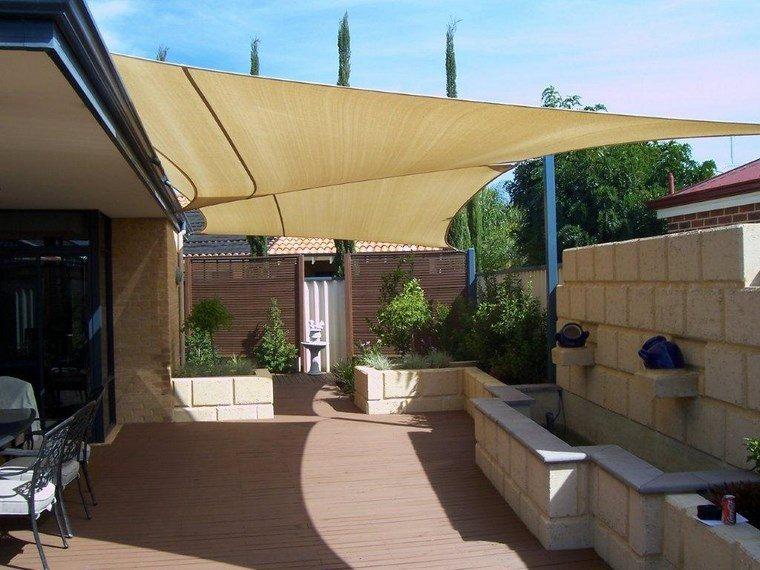 sol y sombra aire libre opciones terraza moderna ideas