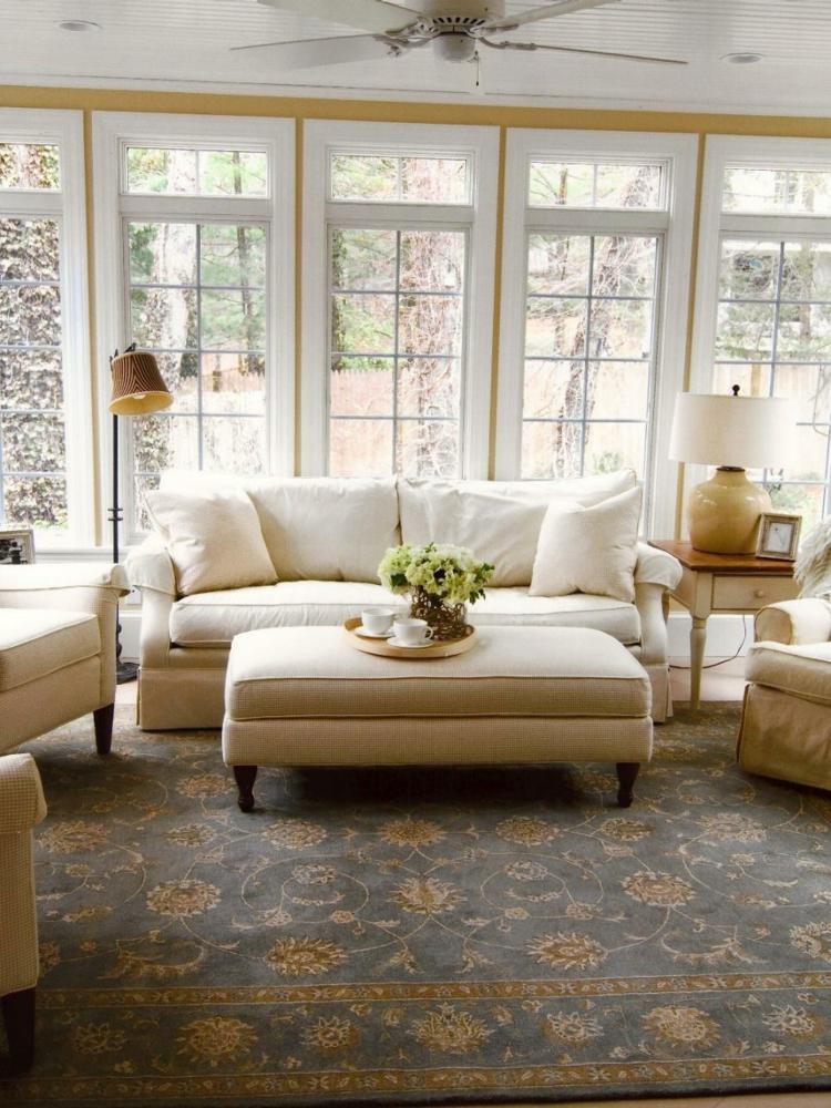 solarium moderno muebles color beige