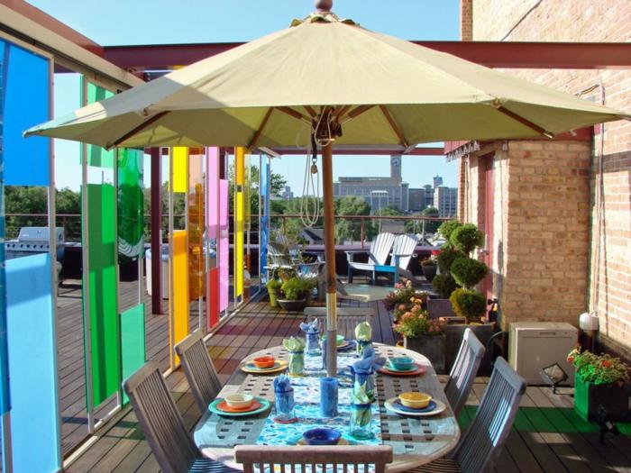 sombrillas correderas muebles puertas colores