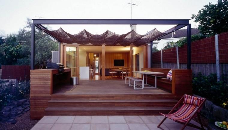 Tipos de madera para el suelo de la terraza 37 fotos - Suelo de madera para terraza ...