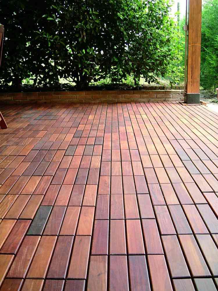Suelos de madera 50 ideas de terrazas preciosas for Suelo de madera terraza