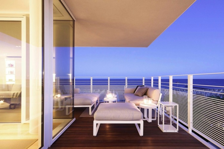 Suelos de madera 50 ideas de terrazas preciosas - Suelo de madera para terraza ...