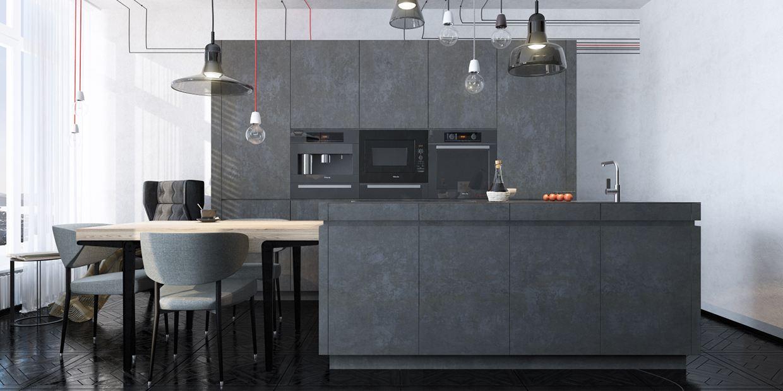 diseño piso loft cemento