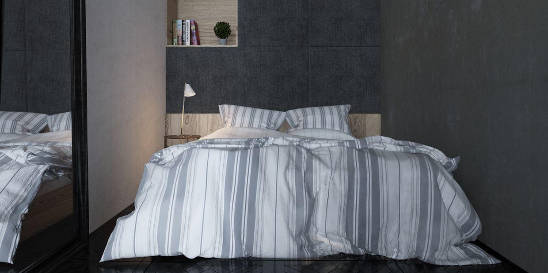 original diseño habitación minimalista