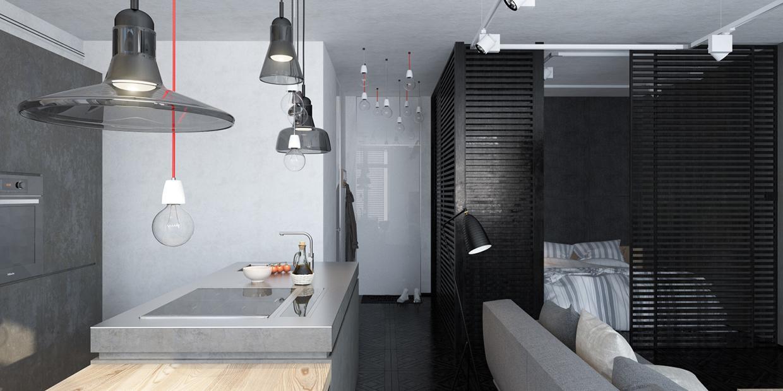 piso loft habitación pequeña