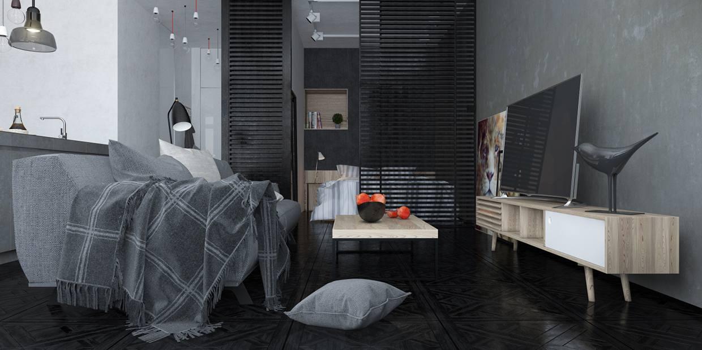muebles diseño moderno gris