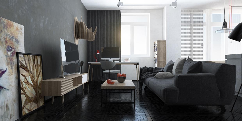 sala estar estilo moderno