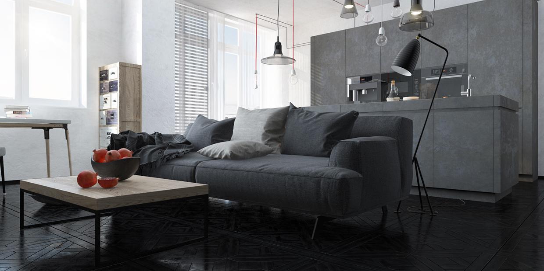 sala estar salón moderno