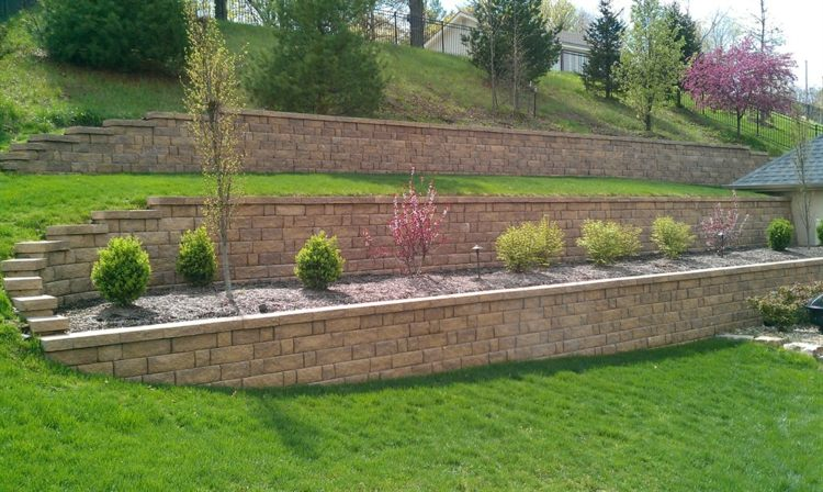 terrazas jardin bloques piedra