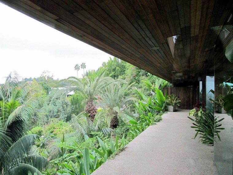 terraza casa vistas plantas casa ideas