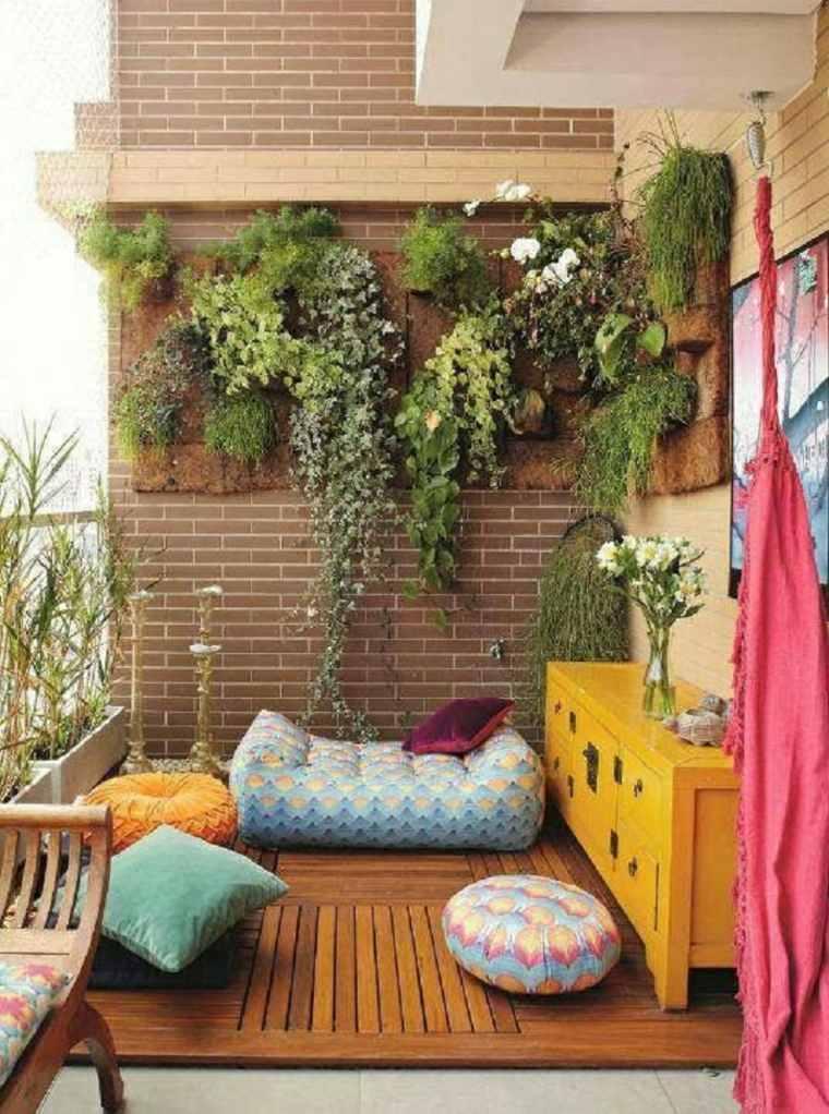 terraza diseño muebles modenros
