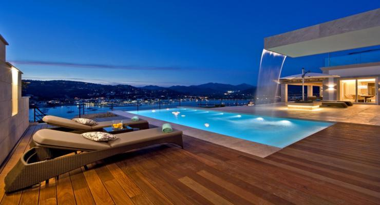 terraza diseño moderno fuente