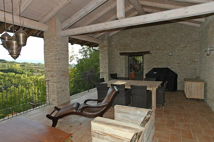 Fotos de casas italianas cl sicas con terraza ideas for Ideas de terrazas rusticas