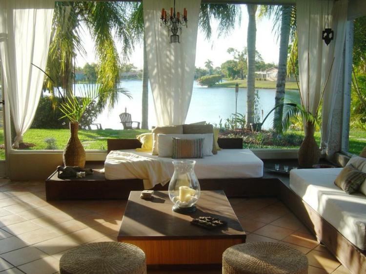 terraza solarium deco estilo tropical