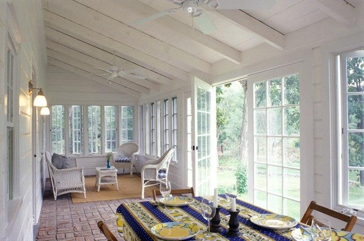 terrazas acristaladas bonitos muebles deco