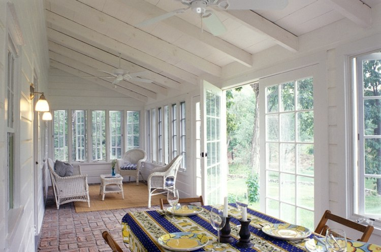 terrazas acristaladas bonitos muebles deco - Terrazas Acristaladas