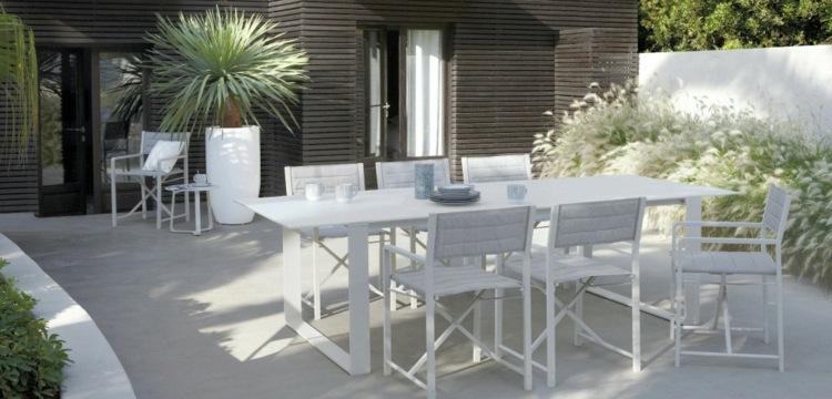 terrazas creatividad salones blanco exteriores maderas