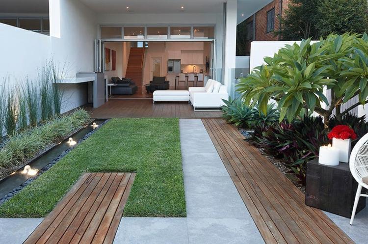 terrazas creatividadsitios colores muebles madera