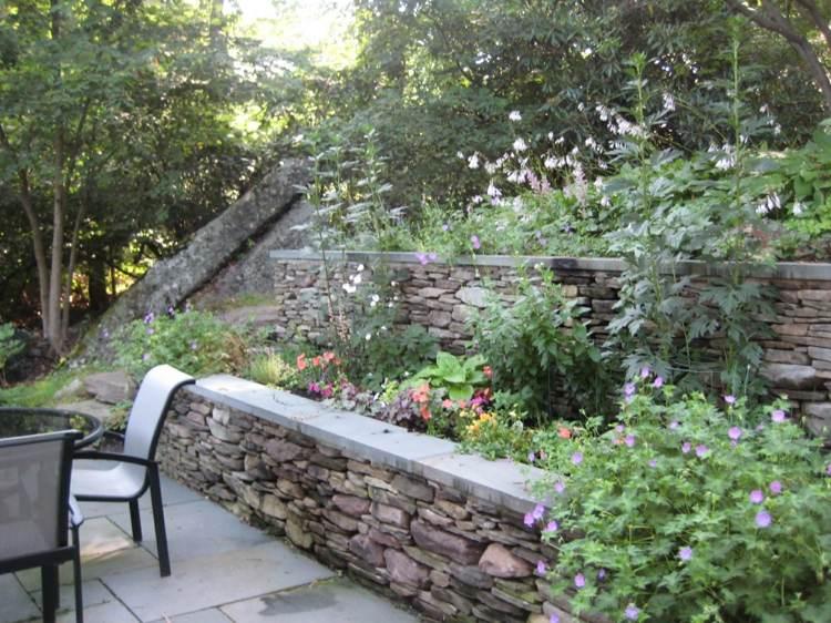 terrazas jardines piedras moderno