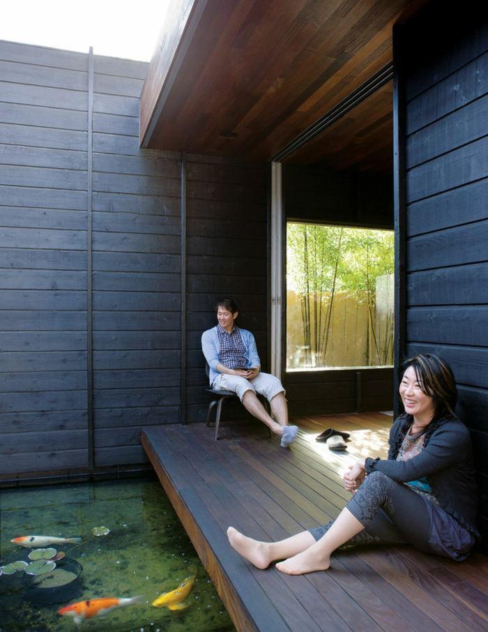 terrazas maderas colgantes muelles bambu