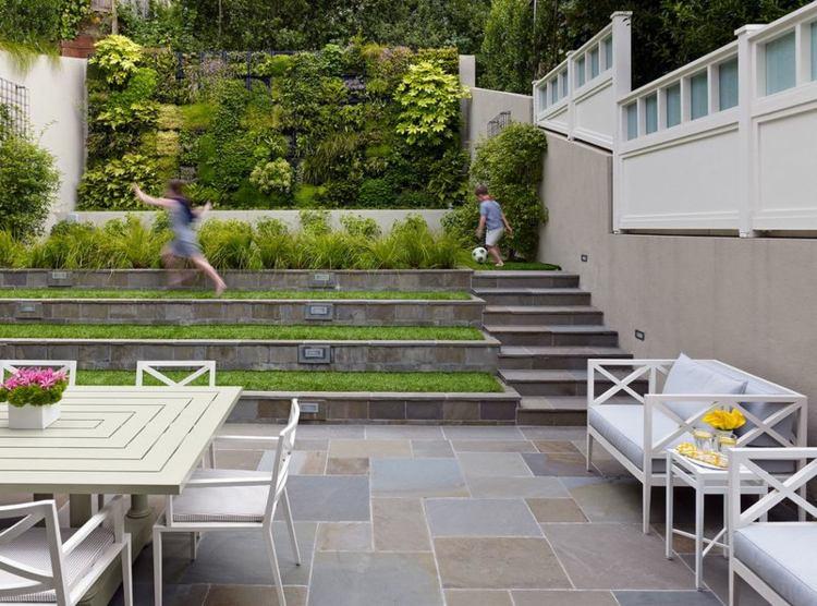 terrazas patio jardín vertical deco