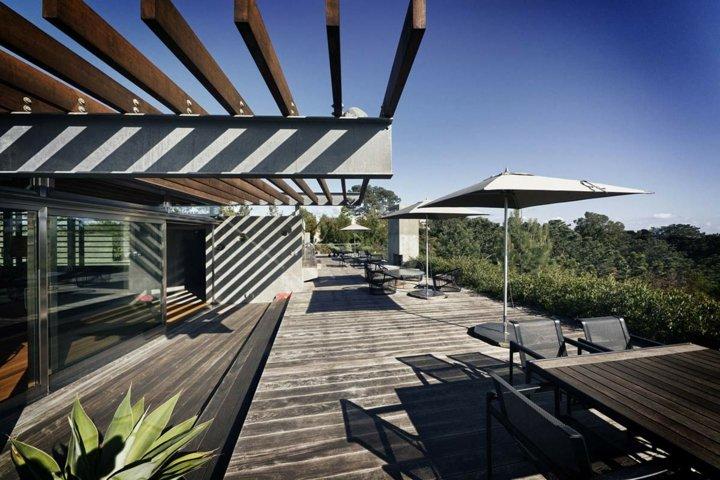 terrazas pergolas comedores exteriores plantas