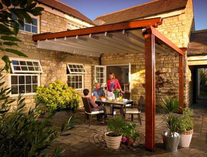 Terrazas pergolas y toldos creaciones pr cticas e - Pergolas para terrazas ...