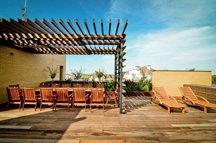 terrazas pergolas estilos maderas sincronizados sistemas
