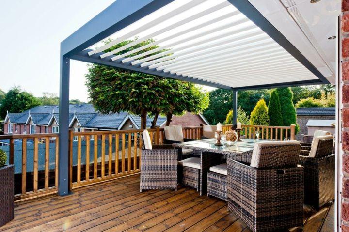 Toldos para patios excellent toldos retrctiles para for Toldos para patios