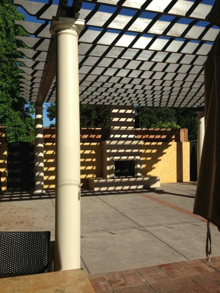 terrazas pergolas lineas color sillones