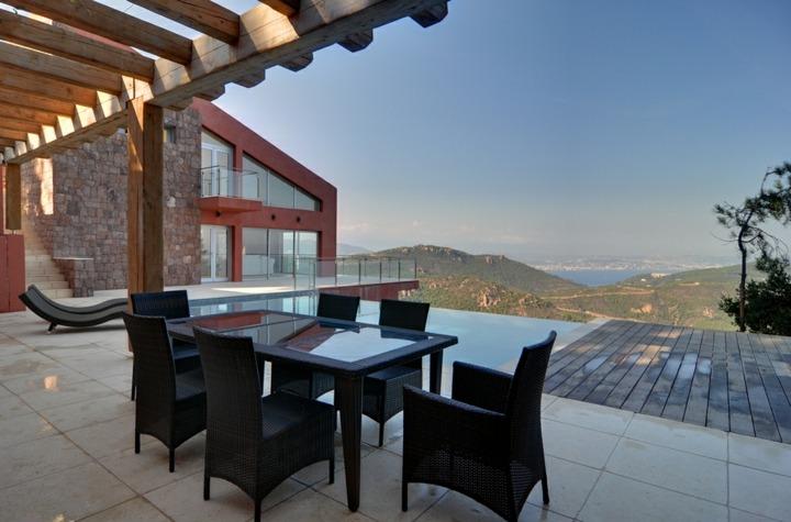 terrazas pergolas sillones muebles ladrillos