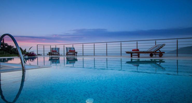 terrazas estupendo diseño piscina
