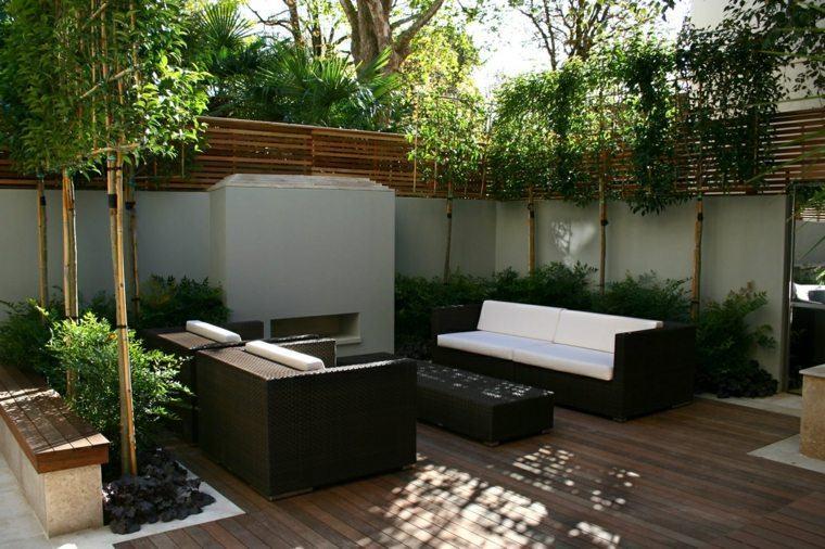 tipos de madera suelo terraza muebles modernos ideas
