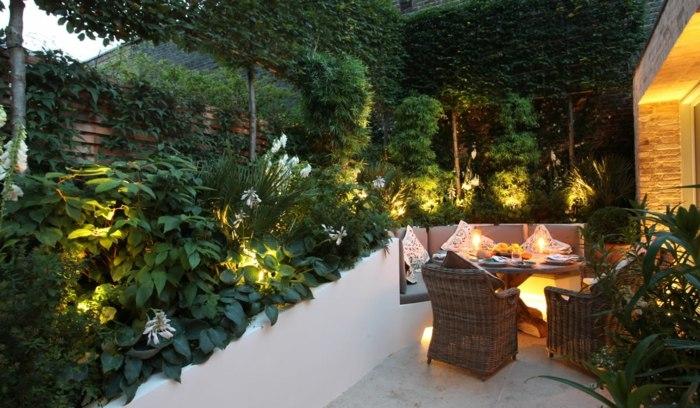 tradicionales estilo asientos patios lineas