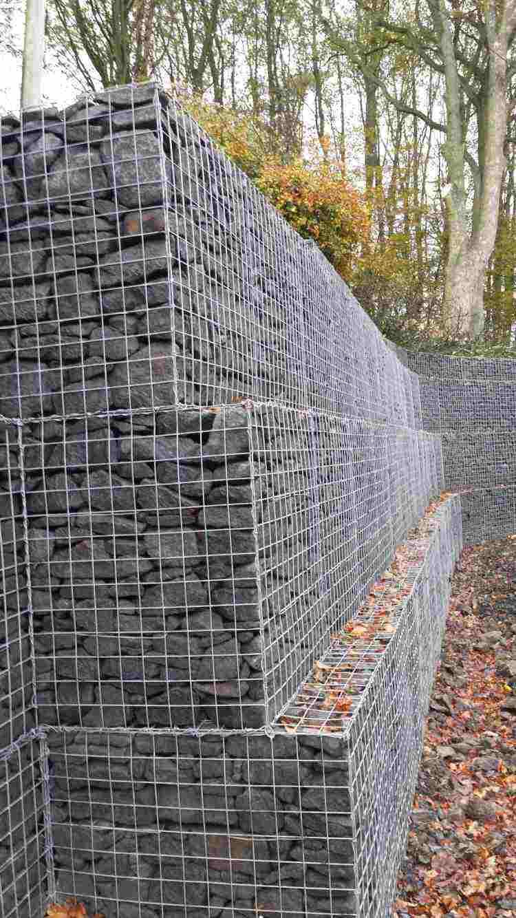 fence garden gabion design