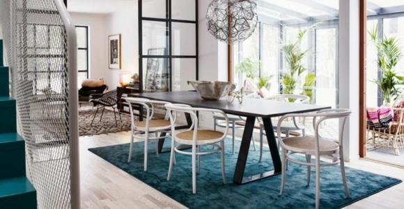 Color turquesa, proyecto U.S.S. Home y otros interiores.