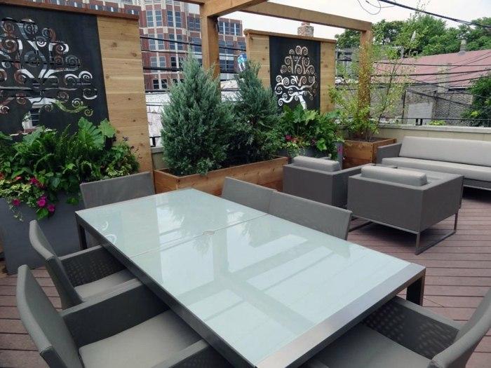 variantes salones exteriores color mesas