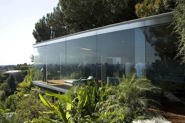 ventanales permiten entrar luz sol casa ideas