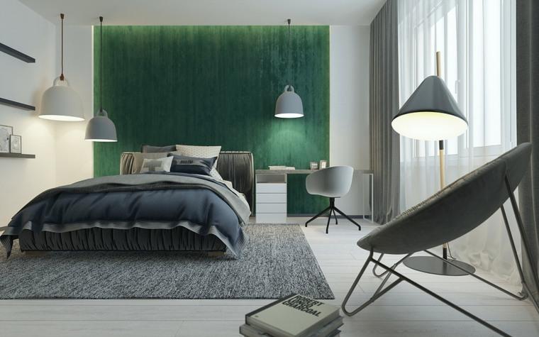 verde habitacion original diseño
