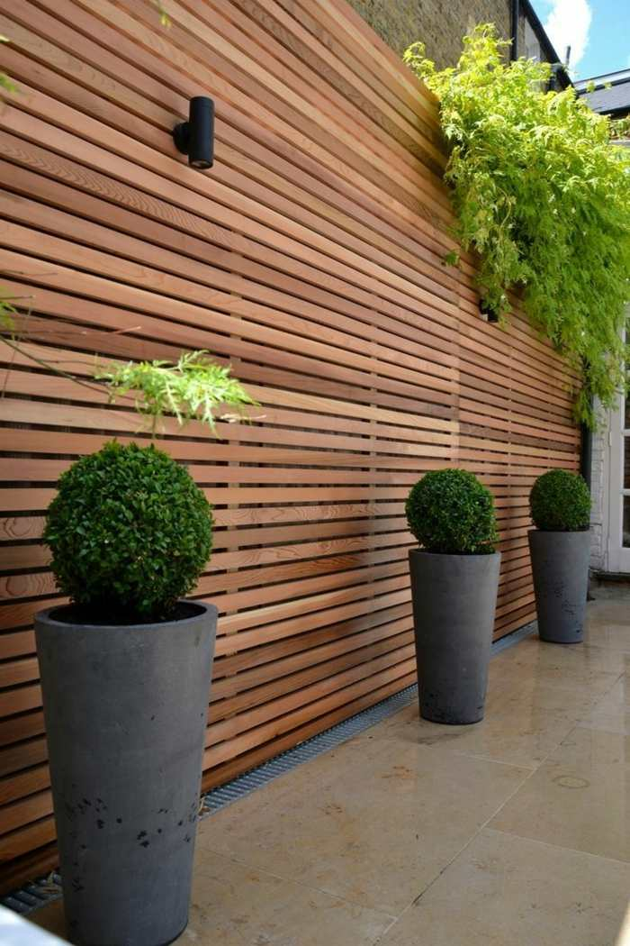 verticales colores estilos maceteros cemento