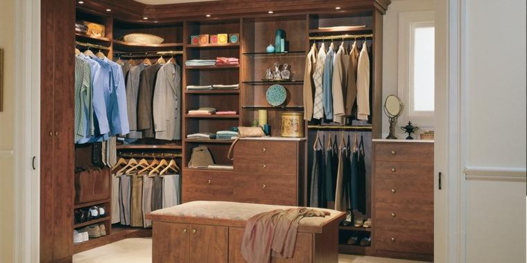 vestidor estilo lujoso elegante madera