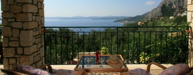 vistas terraza lujosa mar