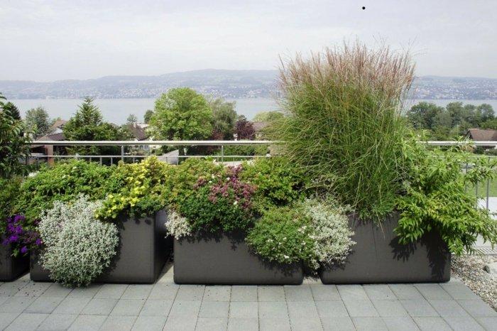 vistas grises estilos colores balcones