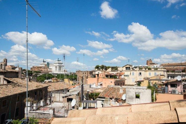 vistas terraza casas tradicionales italianas